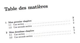 LATEX traitement de texte